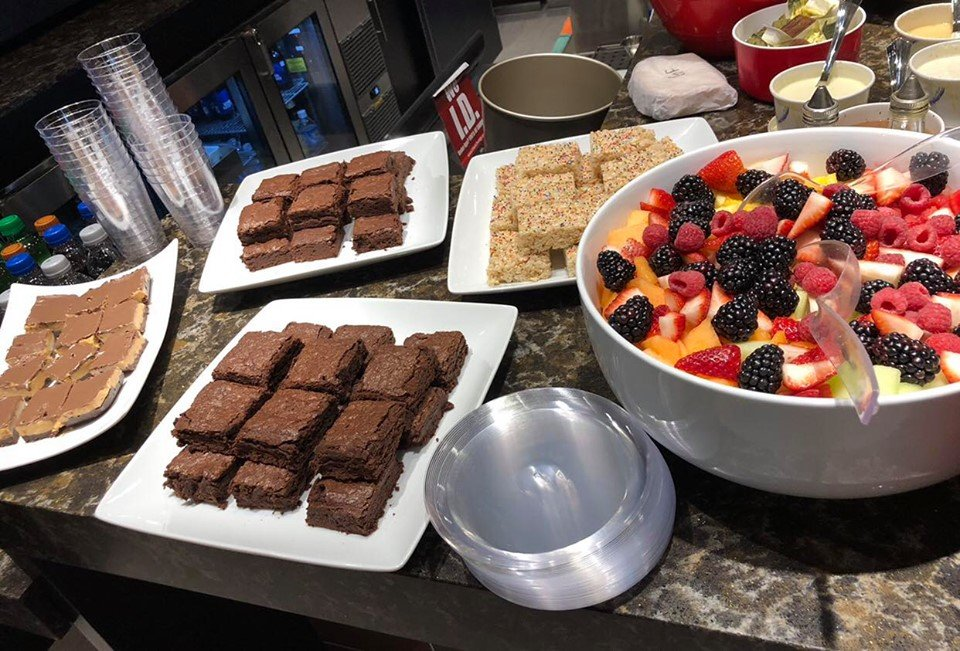 Catered desserts