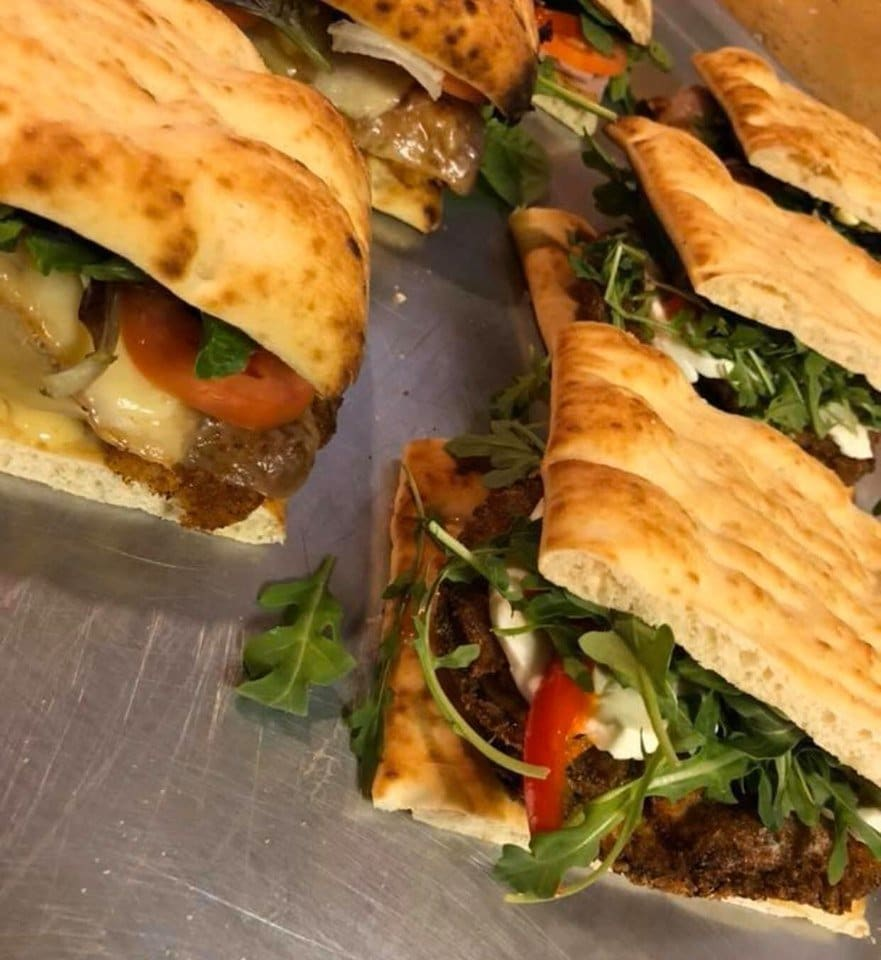 Catered Paninis